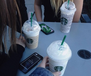 starbucks, tumblr, and friends image