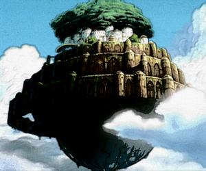 laputa, Castle in the Sky, and studio ghibli image
