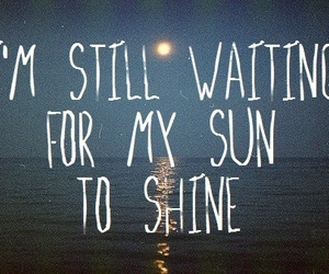 quotes, sun, and text image