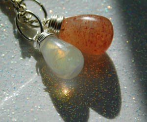 etsy, necklaces, and natural stones image
