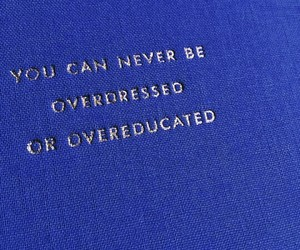 quote, blue, and education image