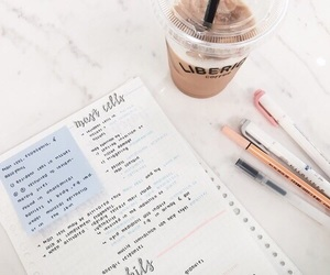 school, study, and notes image