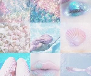 aesthetic, grunge, and mermaid image