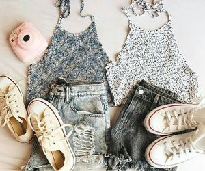 black, chic, and girly image