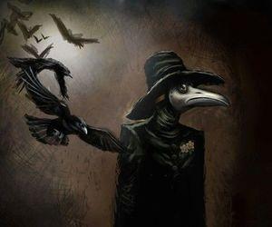 art, plague doctor, and plague image