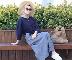 hijab fashion and hijab summer image