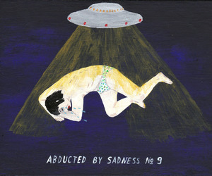 sadness, alien, and art image