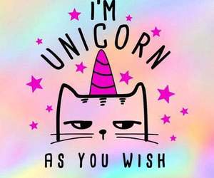 unicorn, wallpaper, and cat image