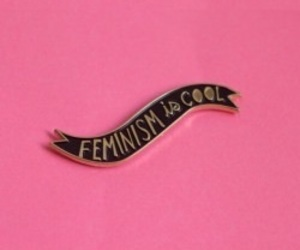 feminism, pin, and pink image