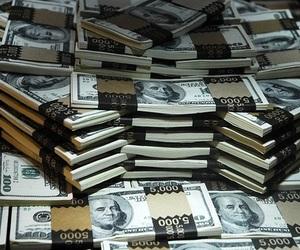 money, cash, and dollar image