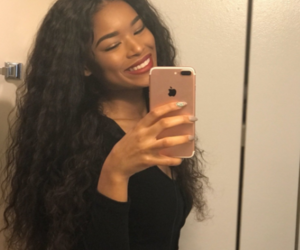 melanin, beauty, and hair goals image