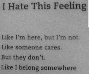 sad, quotes, and hate image