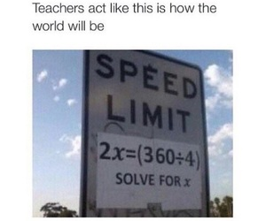 funny, math, and teacher image