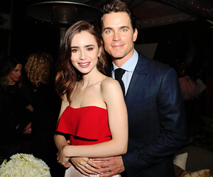 lily collins and matt bomer image