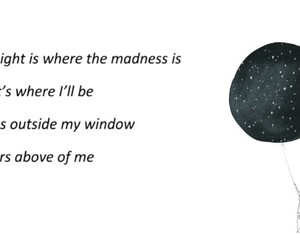 madness, night, and poem image