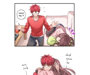 707, waraable, and mystic messenger image