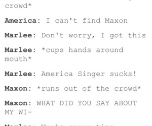 the selection, america singer, and maxon image