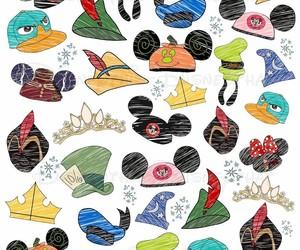 disney, hats, and wallpaper image