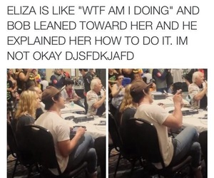 cw, the 100, and beliza image