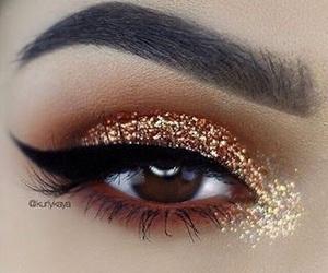 brilho, eye, and maquiagem image
