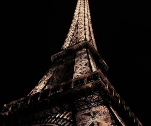paris, travel, and gold image
