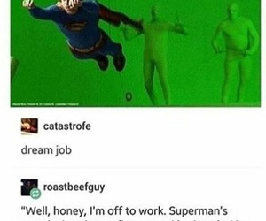 funny and superman image