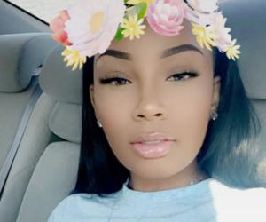 makeup, aaliyahjay, and snapchat image