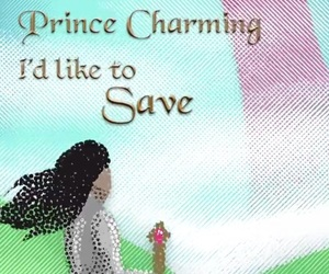 castle, hero, and princess image