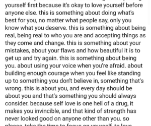 inspire, quote, and love yourself image