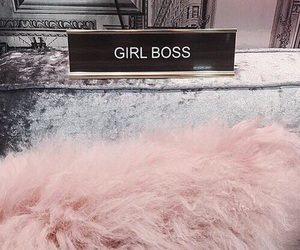 article, pink, and boss image