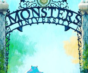 disney, monsters, and wallpaper image