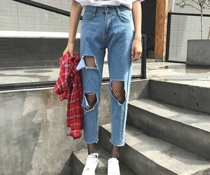 fashion, outfit, and girl image