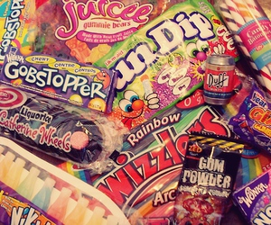 candy, colorful, and wonka image