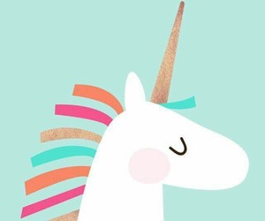 unicorn, colors, and background image