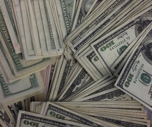 money, rich, and green image