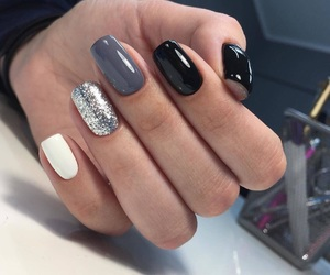 manicure, love, and top image