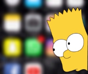 background, bart, and blur image