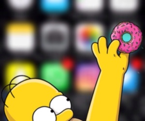 background, blur, and homer image