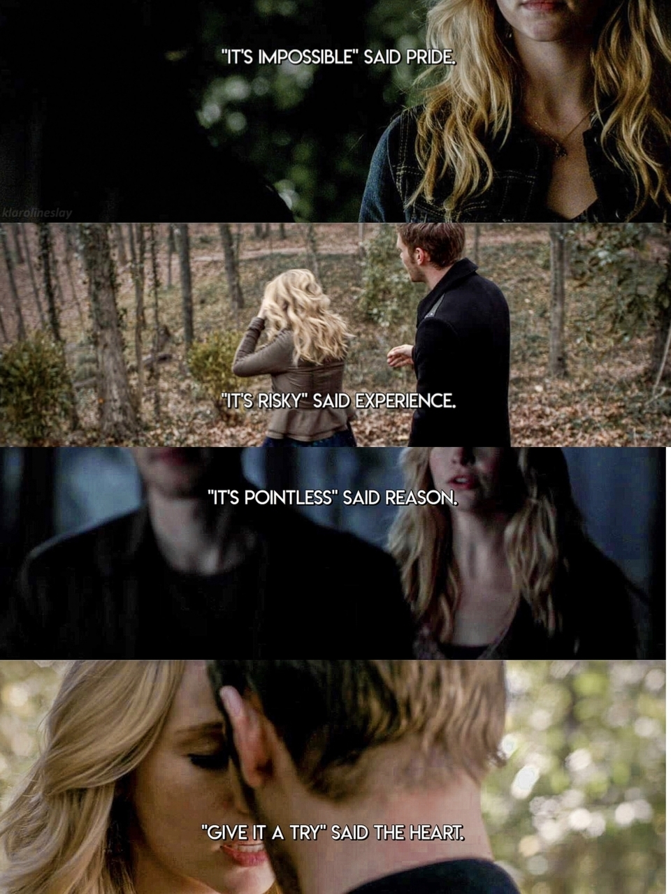 caroline, The Originals, and klaroline image