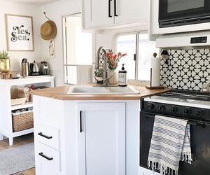 farmhouse, home decor, and kitchen image
