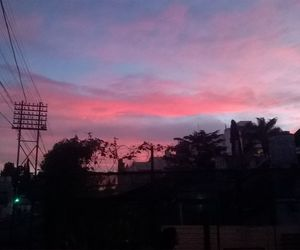 pink, sky, and pink sky image