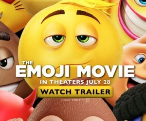 advertisment, 😉, and the emoji movie image