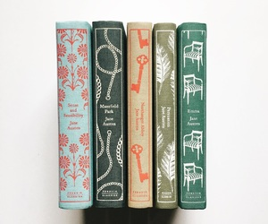 books, jane austen, and read image