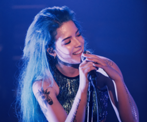 halsey, blue, and badlands image