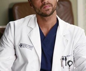 grey's anatomy, jackson avery, and jesse williams image