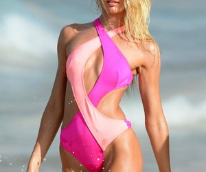 summer, candice swanepoel, and Victoria's Secret image