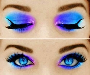 aesthetic, blue, and beauty image