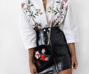 embroidered, style, and fashion image