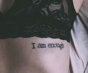 tattoo, grunge, and enough image
