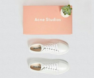 acne, pink, and shoes image